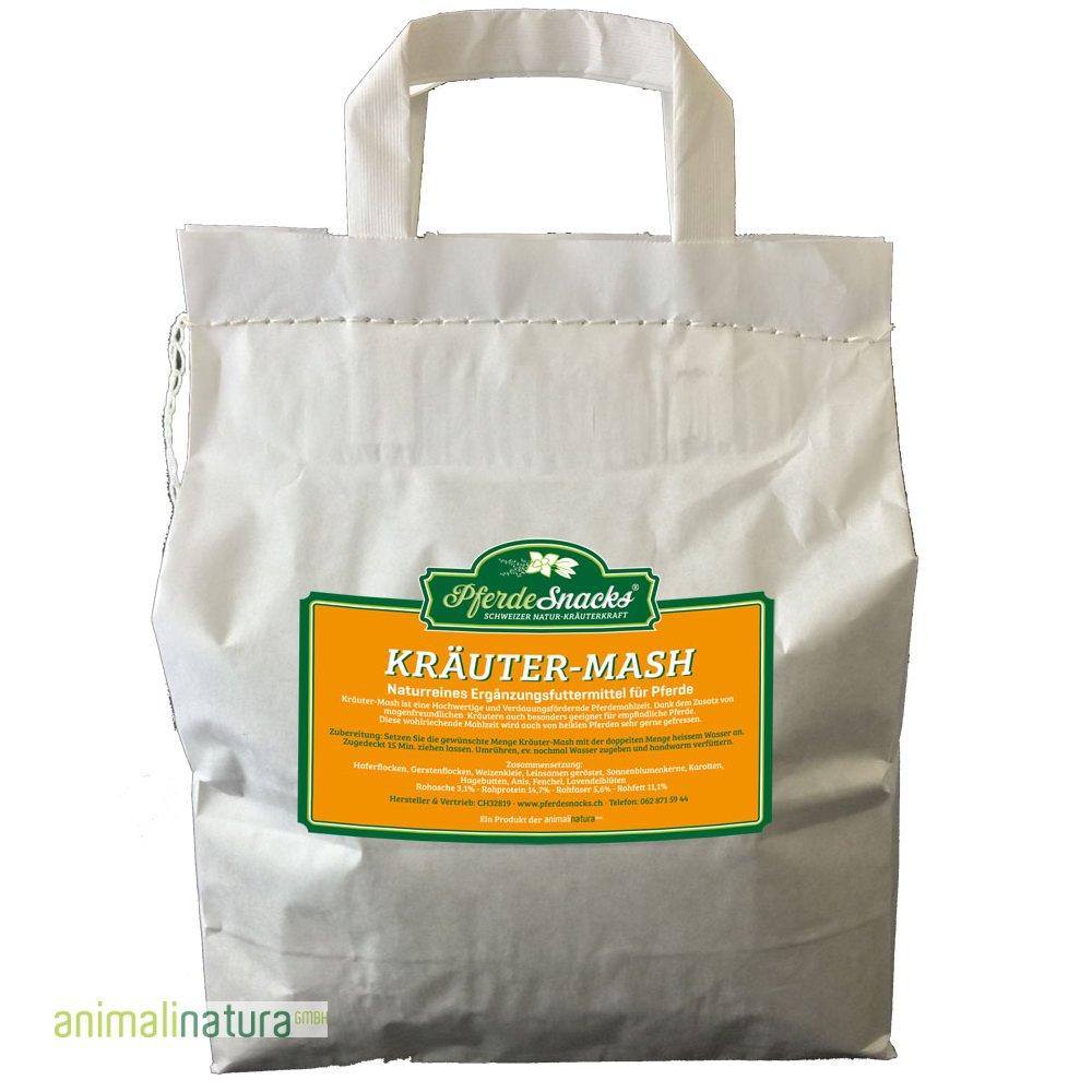 Kräuter-Mash im Papiersack