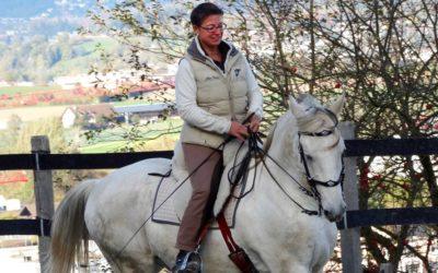 Freude an der Arbeit mit dem Pferd